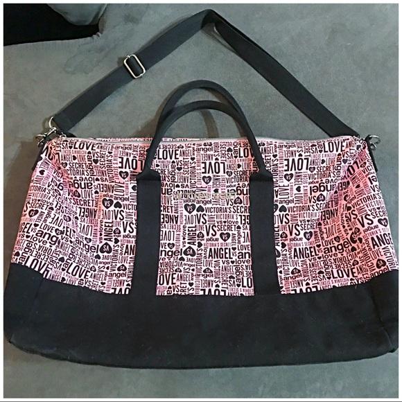 ee3f2188cd Victoria s Secret Large Gym Sport Duffle Bag Pink