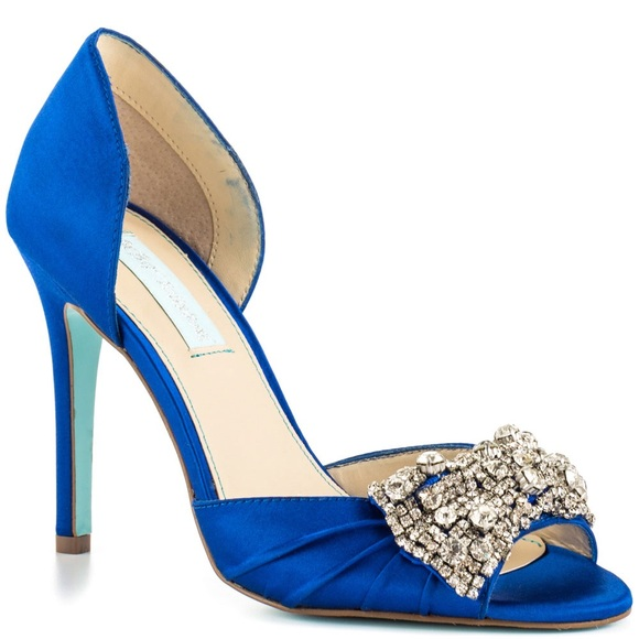 28df06a4cfe Betsey Johnson Shoes - Royal Blue Wedding Shoes -Blue by Betsy Johnson
