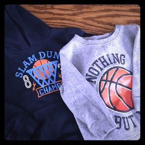 Other - Basketball sweatshirt Lot