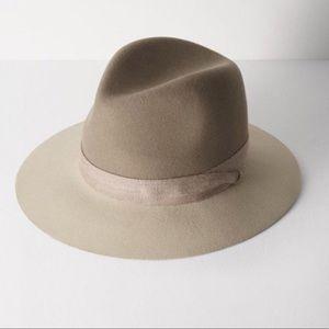 Rag & Bone Floppy Brim Fedora Tan Hat