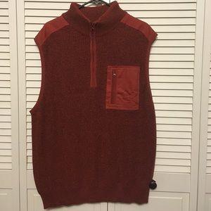 Cabela's  Red and Black Knit Vest