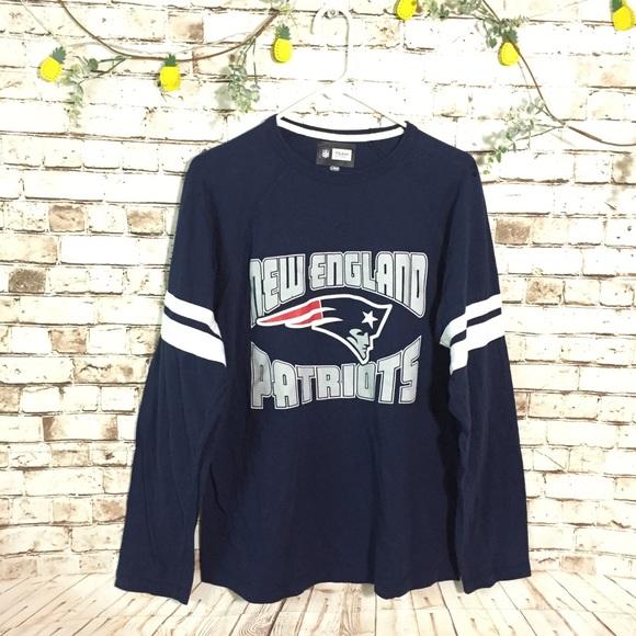 sports shoes 1904f 266a7 New England Patriots NFL spirit jersey tee shirt