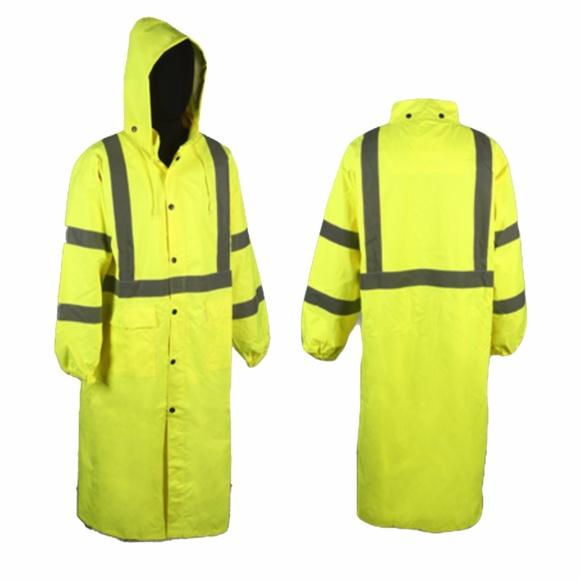 203d17a6684 Class 3 49 Inch Rain Coat. Boutique. Work Force