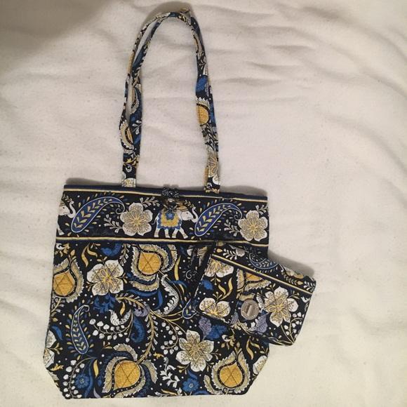Vera Bradley Handbags - Vera Bradley Tote and wallet