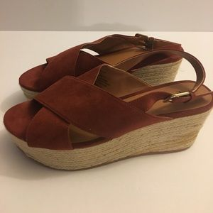H&M Wedges Size 38, fits 7.5