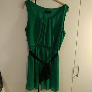 BCX Dresses - Green Cocktail Dress
