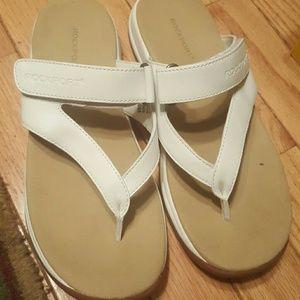 Rockport White Sandal