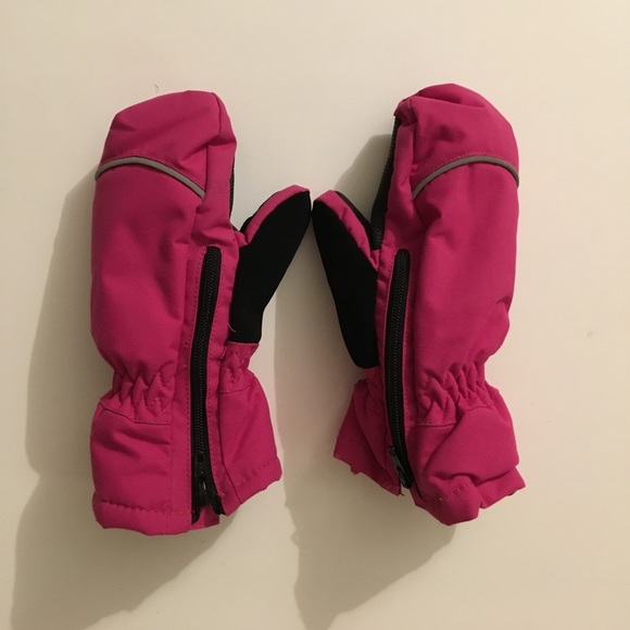 BABY POLARN O PYRET WINTER EASY ON ZIP MITTENS