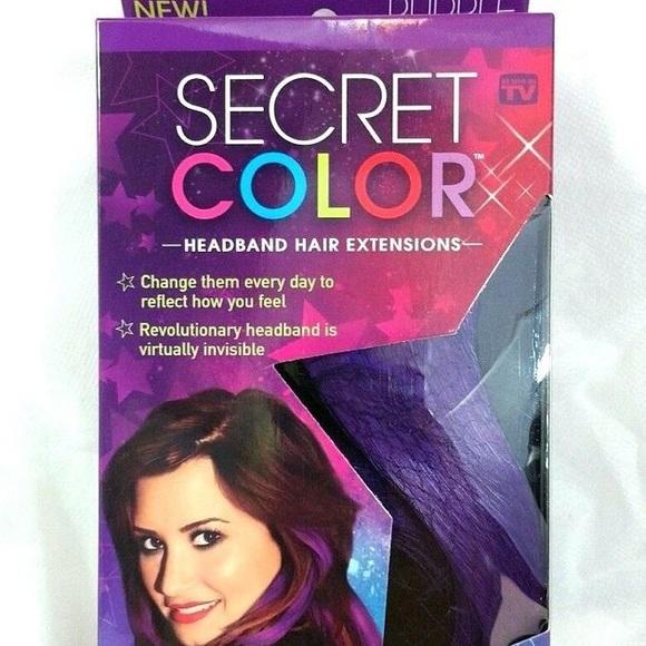 Accessories Demi Lovato Secret Color Hair Extensions Poshmark