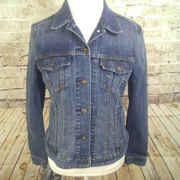 brand new ccb2d a5656 Medium Coats Levi s Francisco San Jackets Jacket Levis Denim amp  8qnrHxqRE