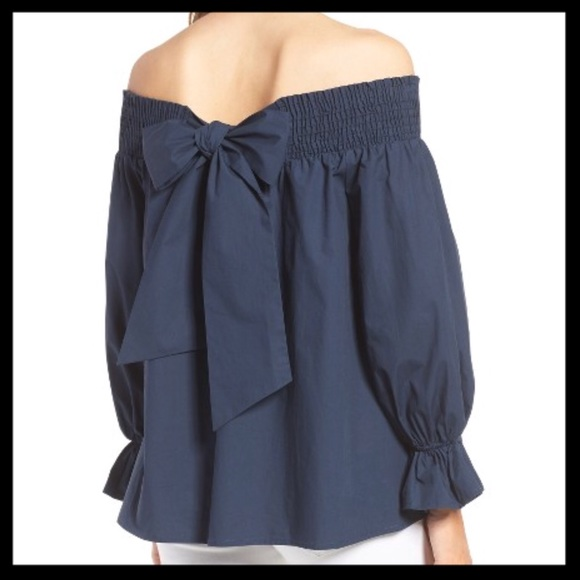 8a27604560d Nwt Soprano Bow Off The Shoulder Top