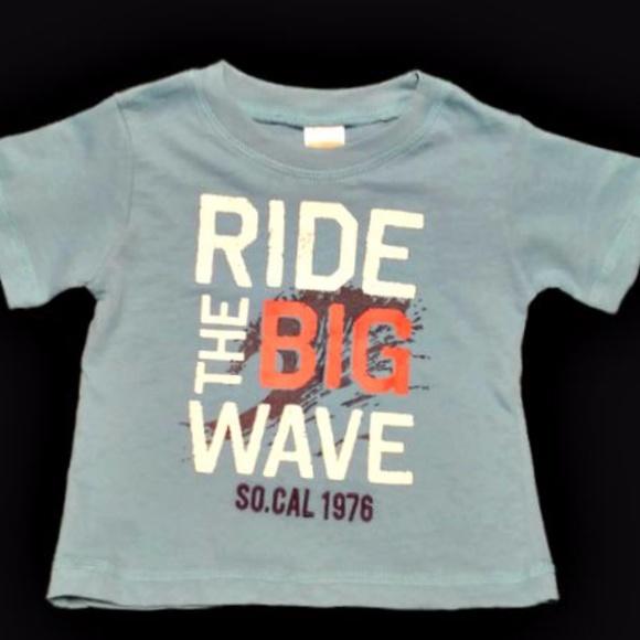 b8d519d1 Gymboree Shirts & Tops | 612 1218 Mths Ride The Big Wave Shirt ...