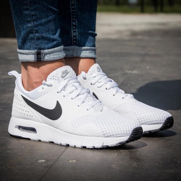 newest cf7ea 4a743 ... Nike AIR MAX TAVAS Women s Shoes - White