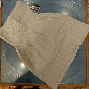 Never worn tube top sweater dress