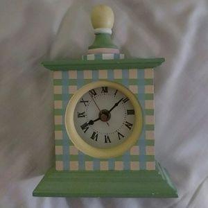 Wooden decorative clock - preloved