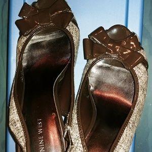 Nine West Cloth Shoe