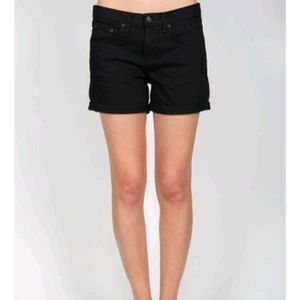 Rag & Bone Cutoff Aged Black Shorts