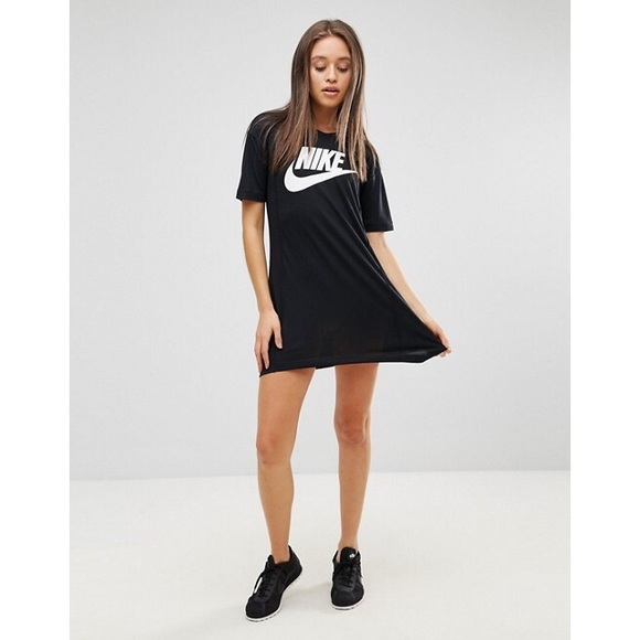 97dd6b80425e Nike Dresses | Logo Tshirt Dress | Poshmark