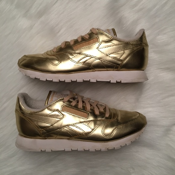 Reebok Classic Leather Spirit W Schuhe gold im Shop Damen