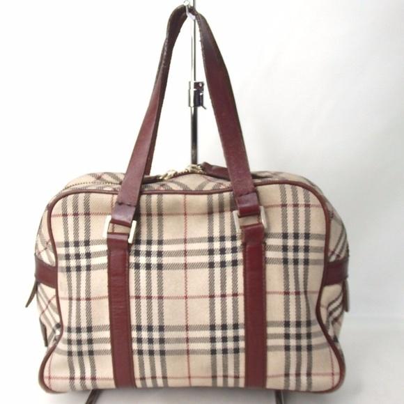 6f9ea02f2845 Burberry Handbags - Auth Burberry Blue Label Nova Check Shoulder Bag