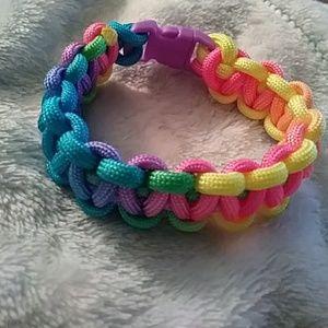 Multicolored Paracord Bracelet