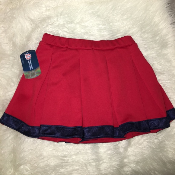 a0e191222e Hype and Vice Skirts | Red Tailgate Skirt | Poshmark