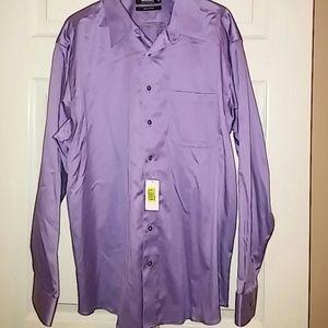 NWT Men's Murano Liquid Cotton Dress Shirt