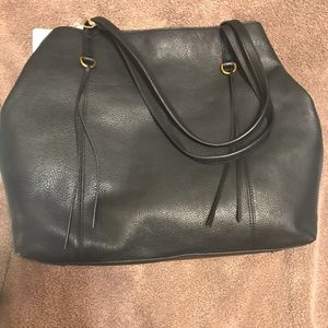 Hobo Int'l NWT Kingston large Black leather should