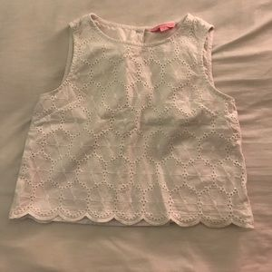 Lily Pulitzer pace crop top