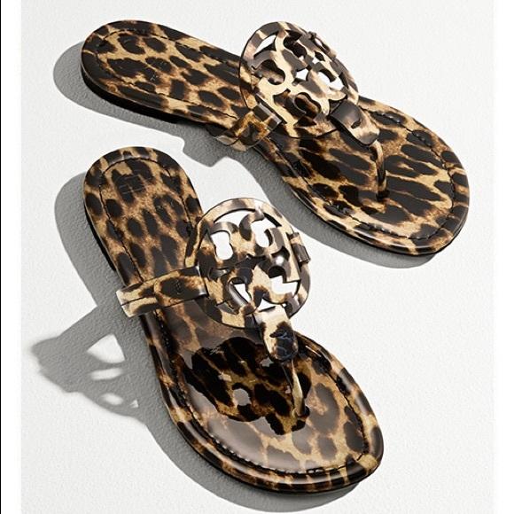 Authentic Tory Burch Leopard Miller