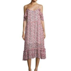 Rebecca minkoff cold- shoulder dress