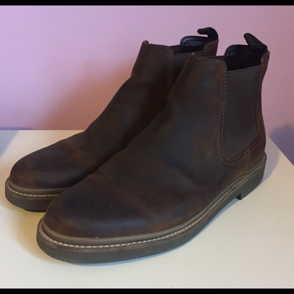61b17b34e30 Clarks Shoes | Bushacre Up Beeswax Chelsea Boot | Poshmark