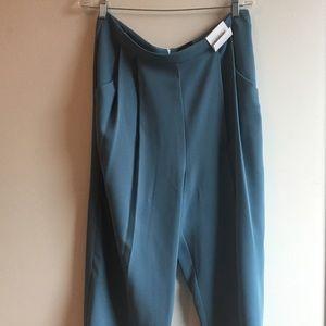 Top shop wide legged cropped pants