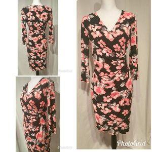 Gorgeous Faux Wrap Women's Size Small Dress