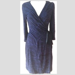 NEW Express Lace Casual Party Dress: Xsmall, Blue