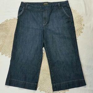 Eddie Bauer Crop Jeans Sz 16