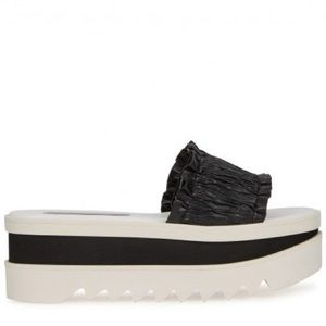 Stella McCartney Black and White Sandal Size 37