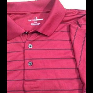 Bright Red Lightweight Golf Polo