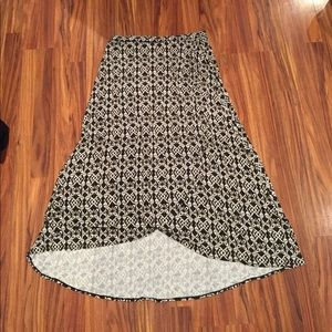 Sophie Max high low skirt