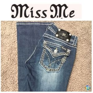 Miss me boot cut jeans size 27 NWOT