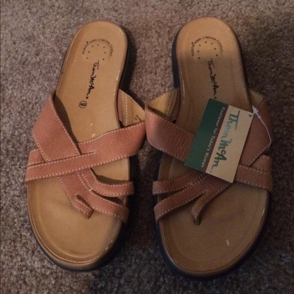 20f054886b1  5 Thom Mcan leather sandals nwt