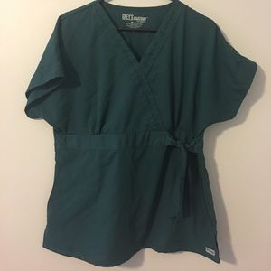 Greys Anatomy scrub top