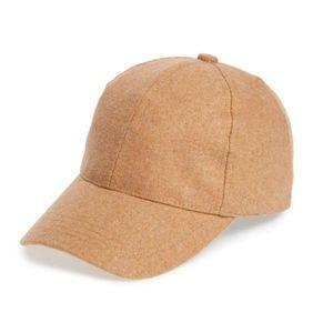 BP. Solid Baseball Cap in Brown