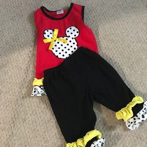 Other - Disney Outfit only warn 2 times 3T