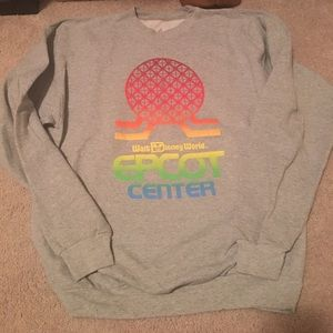 Tops - Disney World Epcot Throwback Sweatshirt