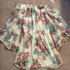 Beautiful flowery dress worn once!