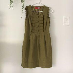 Beautiful Army Green Dress
