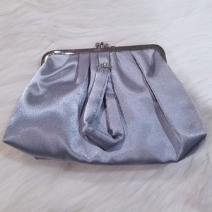 Silver Clutch Purse/Bag/Wristlet