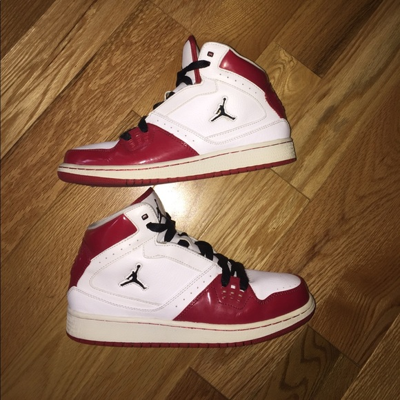 605ecad6630 🌻NIKE AIR JORDAN FLIGHT ONE YOUTH 7 RED WHITE🌻.  M 59f606754127d0d24405cd99. Other Shoes ...