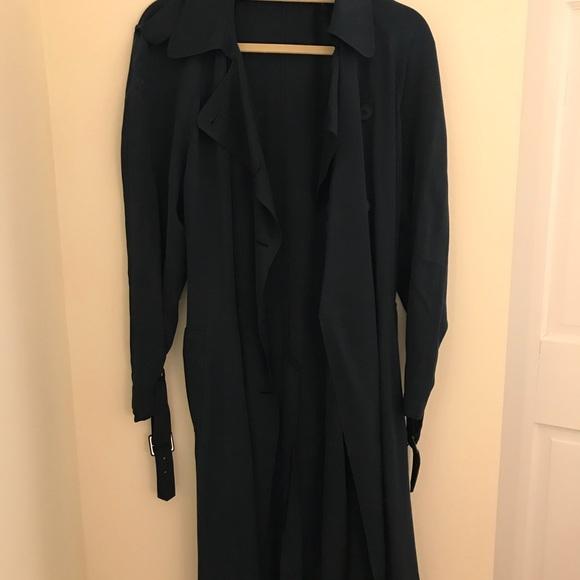 1c3ee74941 Theory Silk Trench. M_59f60a134e95a337c905f74d. Other Jackets & Coats ...